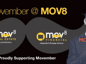 Movember at MOV8 Real Estate