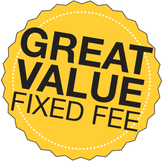 Great Value, Fixed Fee Estate Agency!