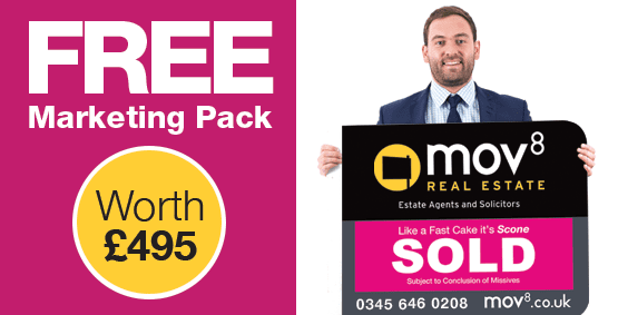 25% off Fixed Estate Agency Fee