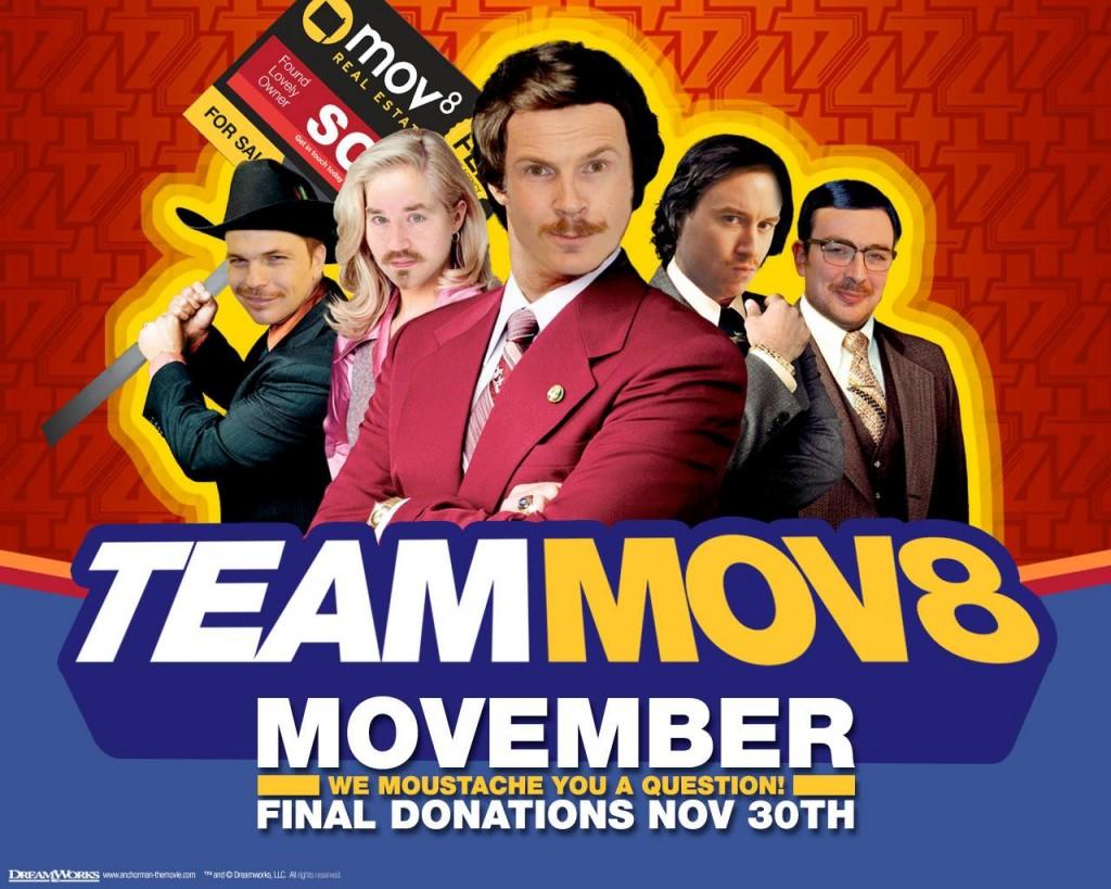 Movember wrap up