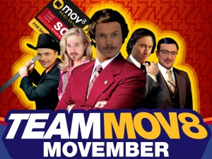 Join In With MOV8 Movember