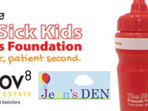 MOV8 Sponsors Sick Kids Friends Foundation