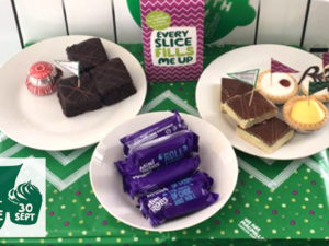 The MOV8 Team Eat More Cakes To Help Raise Money for Macmillan Cancer Support
