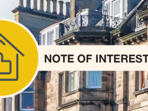 What is a Note of Interest in Scottish Property Market?