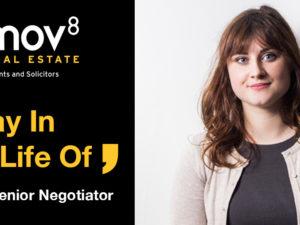 A Day in the Life of… Evie Moir, Senior Negotiator