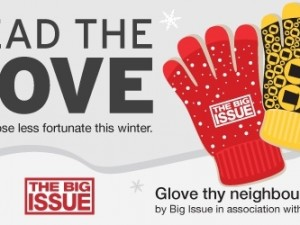 Spread the Glove – Last Chance to Donate Your Winter Woolies for Big Issue Vendors