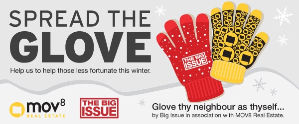 Spread the Glove Homeless appeal 2014